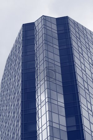 Photo for Top part of modern office building - Royalty Free Image