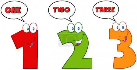 Numbers One,Two And Three
