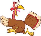 Turkey Escape Cartoon Character