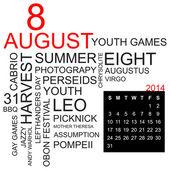 Word cloud August 2014