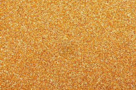 Photo pour Fond scintillant doré de Noël. texture abstraite vacances or - image libre de droit