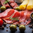 Photo of antipasti and appetizers...