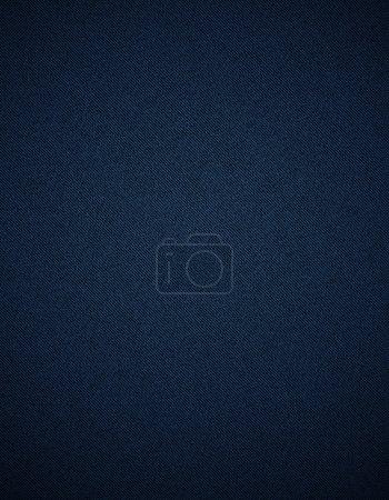 Photo pour Fond tissu denim en bleu - image libre de droit