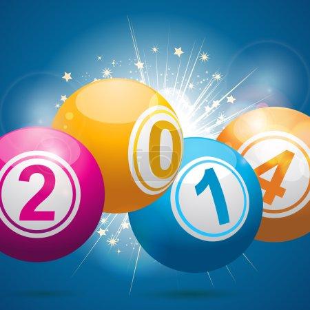 2014 bingo lottery balls