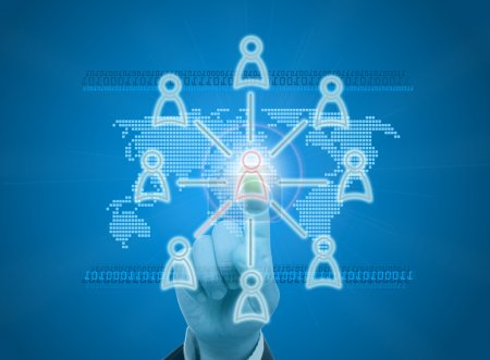 Managing organization or social network in digital age