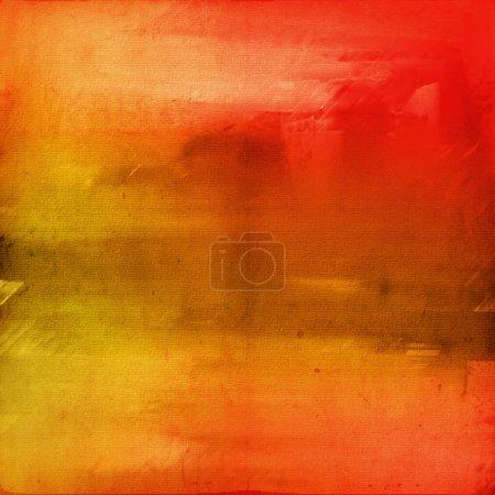 Foto de Colores de fondo acuarela con los colores rojos y naranjas - Imagen libre de derechos