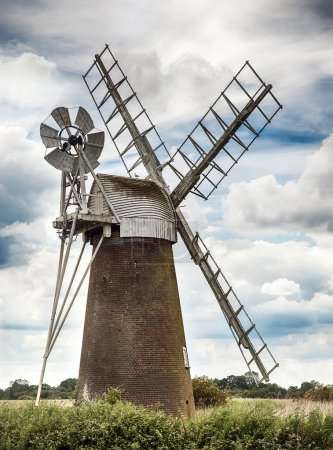 Windmill in Norfolk UK