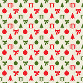 Retro Christmas pattern