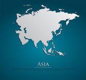 Mapa Asie