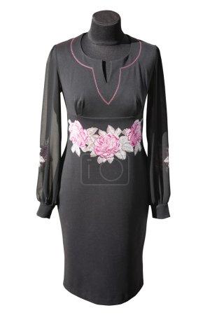 Ukrainian black dress