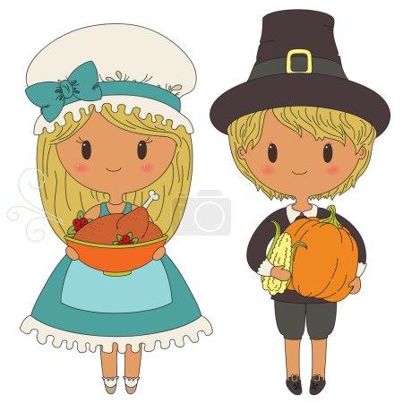 Pilgrims couple