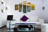 """Постер, картина, фотообои """"Modern lliving room interior"""""""