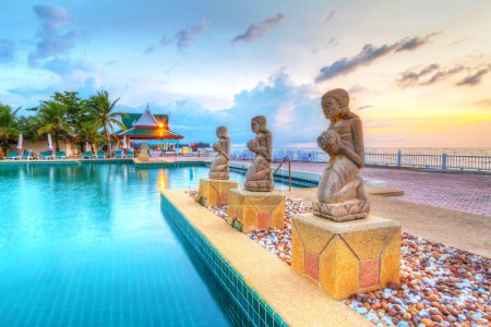 Oriental architecture of Andaman Princess Resort & SPA