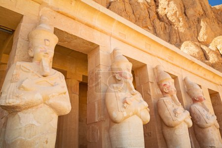 Statues of Queen Hatshepsut in Egypt