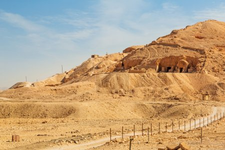 Tombs at the Temple of Queen Hatshepsut