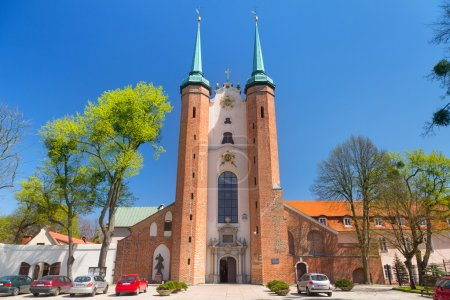 Basilica of The Holy Trinity in Gdansk Oliwa