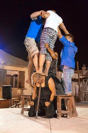 Fakir show in Egypt