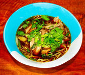Thai noodles with duck