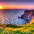 Cliffs of Moher at sunset, Co. Clare, Ireland...