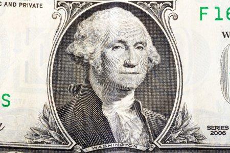 George Washington en un billete de un dólar