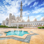 Sheikh Zayed Grand Mosque in Abu Dhabi, United Ara...