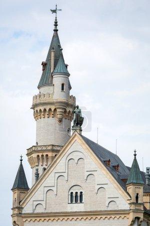 Neuschwanstein Castle in the Bavarian Alps