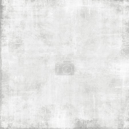 Photo for Old white paper texture - abstract grunge background - Royalty Free Image