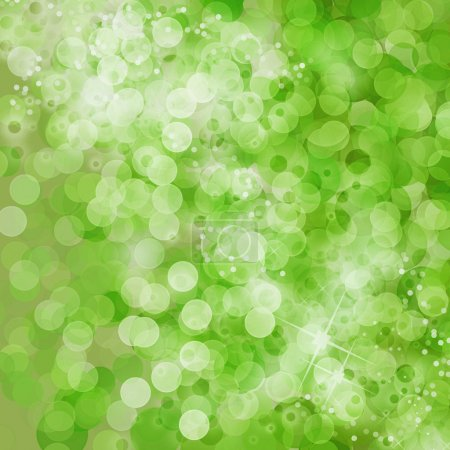 Photo for Green bokeh and light background - Royalty Free Image