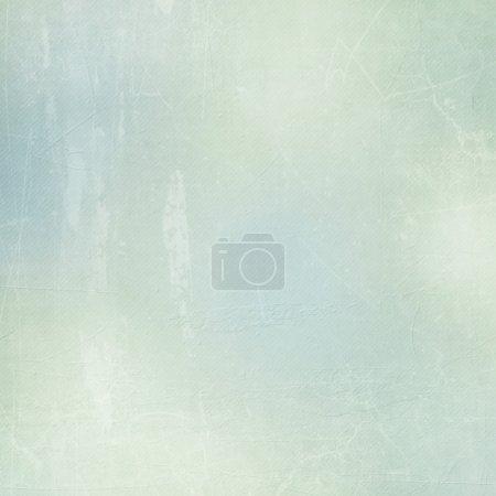 Foto de Fondo de papel texturado en verde, beige y azul - Imagen libre de derechos