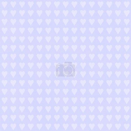 nahtloser Hintergrund mit Herzen. Retro-Textur