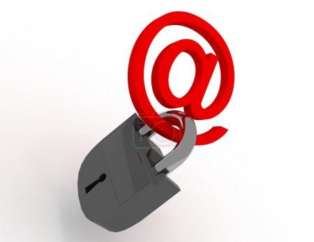 symbol internet with keys