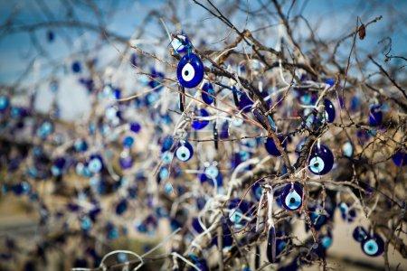 Photo pour Bonne chance charmes pour protéger contre le mauvais oeil - image libre de droit