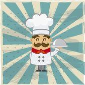 Šéfkuchař vektor
