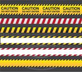Caution ribbon