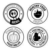 healthy food seals