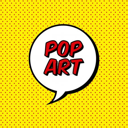 Illustration for Pop art explosion over dotted background. vector illustration - Royalty Free Image
