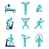 Fitness design over white background vector illustration