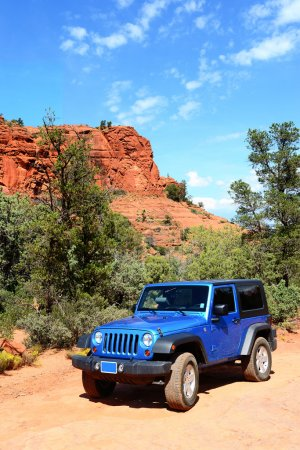 Broken Arrow trail in Sedona