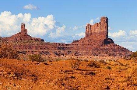 Photo pour Le paysage unique de monument valley, utah, États-Unis. - image libre de droit