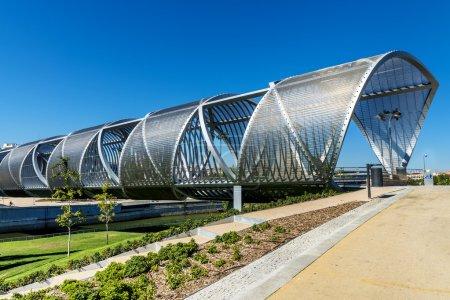 Photo for Arganzuela Bridge in Madrid city, Spain, Europe - Royalty Free Image