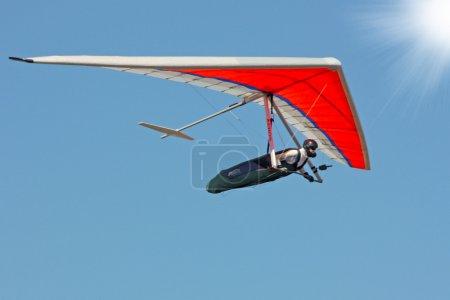 Photo pour Deltaplane iin Crimée - image libre de droit