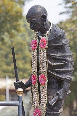 Monument near the Gandhi Memorial