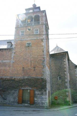 Photo pour Abbaye de Leffe près de DIanant le long de Mosa, Belgique - image libre de droit