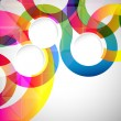 Abstract background with vector design elements....