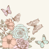Rose and butterfly 2