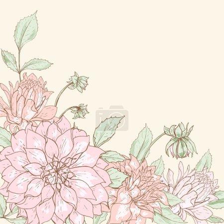 Dahlia background 4