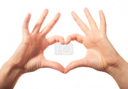 Photo for Two human love hands - Royalty Free Image