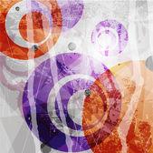 """Постер, картина, фотообои """"Ретро современные Абстракция цвета. Абстрактные векторные фон"""""""