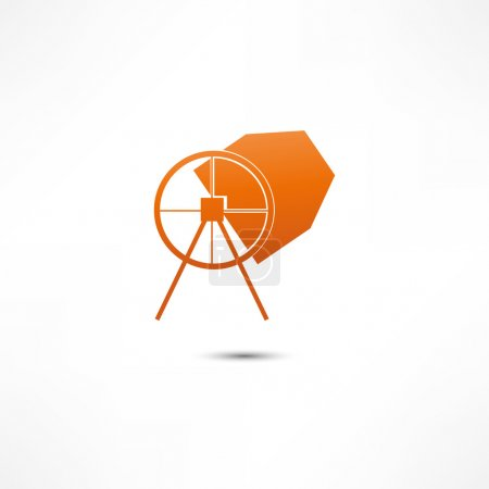 Concrete Mixer Icon