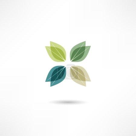 Plants eco icon